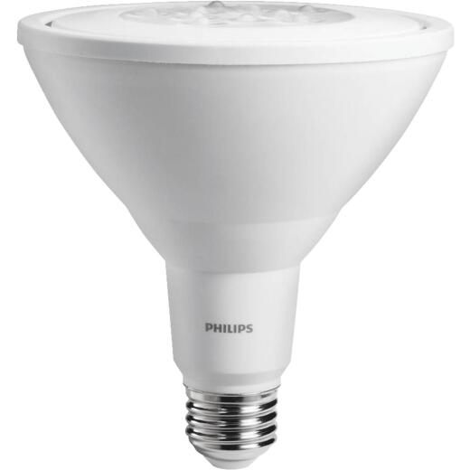 Philips 90W Equivalent Bright White PAR38 Medium LED Floodlight Light Bulb (2-Pack)